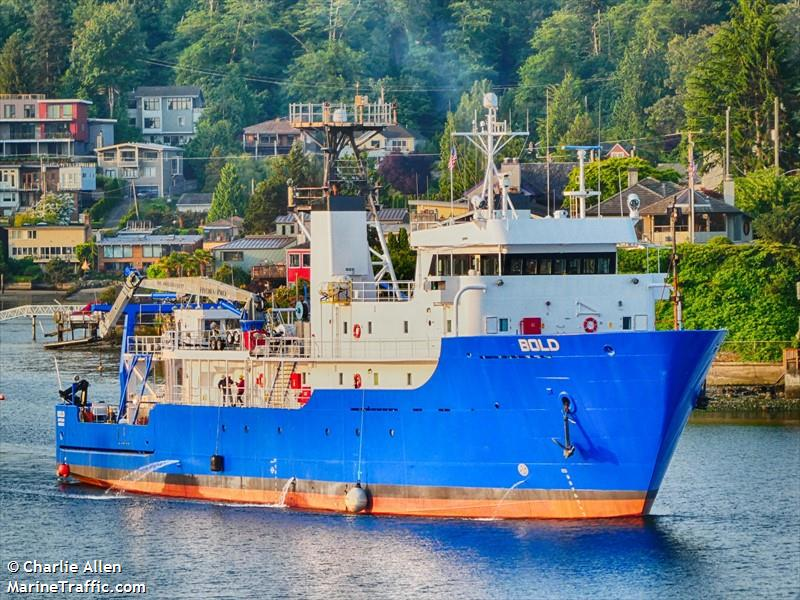 Vessel details for: US EPA BOLD (Research/Survey Vessel) - IMO