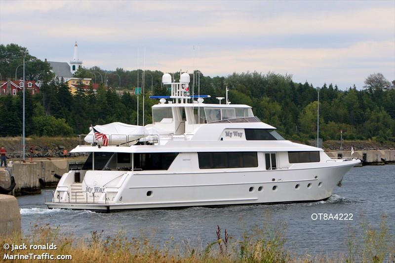 Vessel details for: MY WAY (Pleasure Craft) - MMSI 368006080, Call