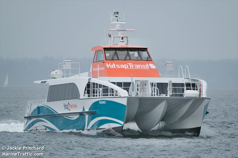 Vessel details for: RELIANCE (High Speed Craft) - MMSI