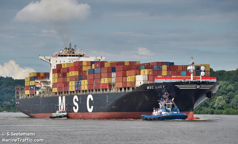 Vessel details for: MSC LUCY (Container Ship) - IMO 9289104