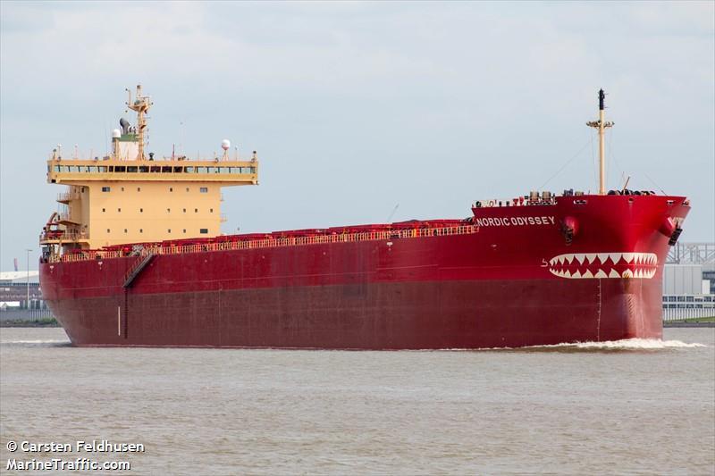 Vessel details for: NORDIC ODYSSEY (Bulk Carrier) - IMO