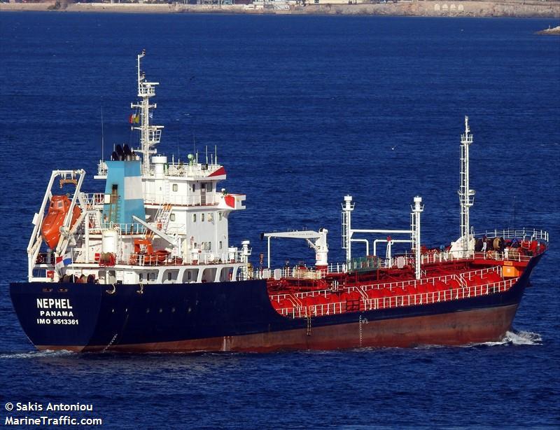 Vessel details for: NEPHEL (Asphalt/Bitumen Tanker) - IMO