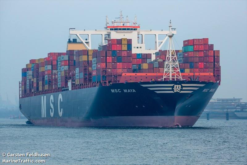 Vessel details for: MSC MAYA (Container Ship) - IMO 9708679, MMSI