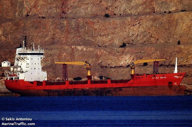 Vessel details for: ATLAS WAVE (General Cargo) - IMO 9083902, MMSI