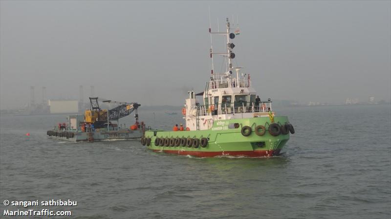 Vessel details for: KOHINOOR III (Tug) - IMO 9623283, MMSI 419000143