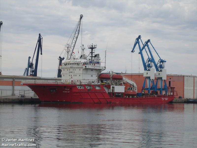 Vessel details for: SEAMEC III (Offshore Supply Ship) - IMO 8128339
