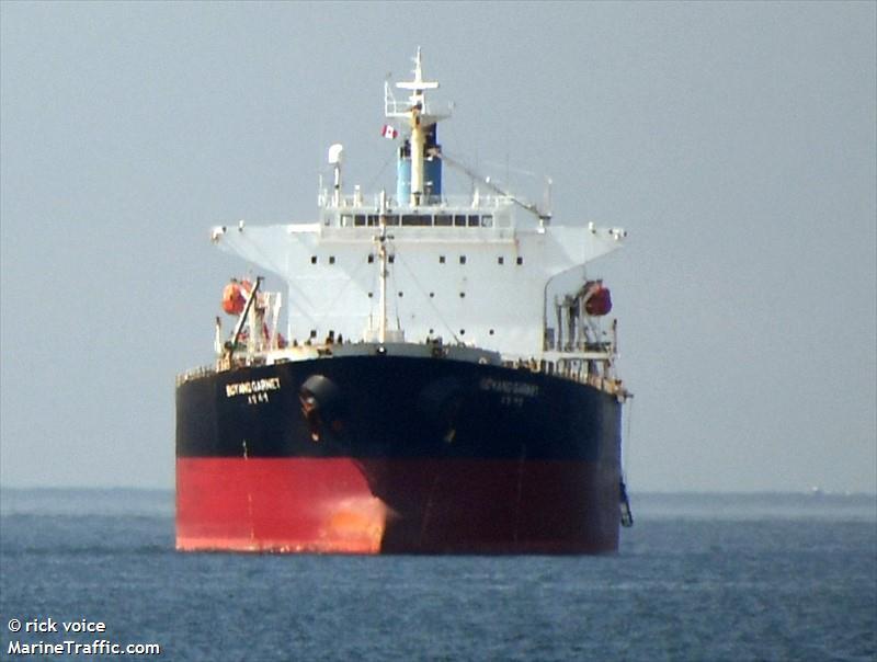 Vessel details for: BOYANG GARNET (Bulk Carrier) - IMO