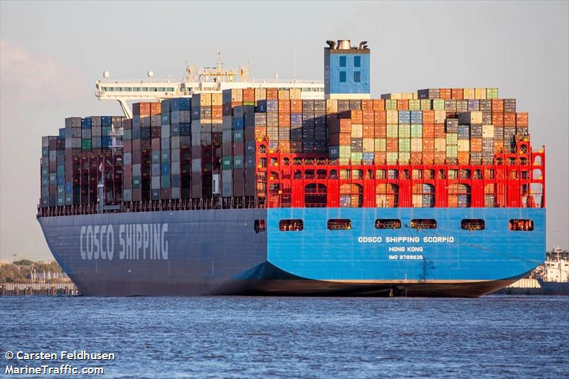 Vessel details for: COSCO SHIPPING SCORPIO (Container Ship