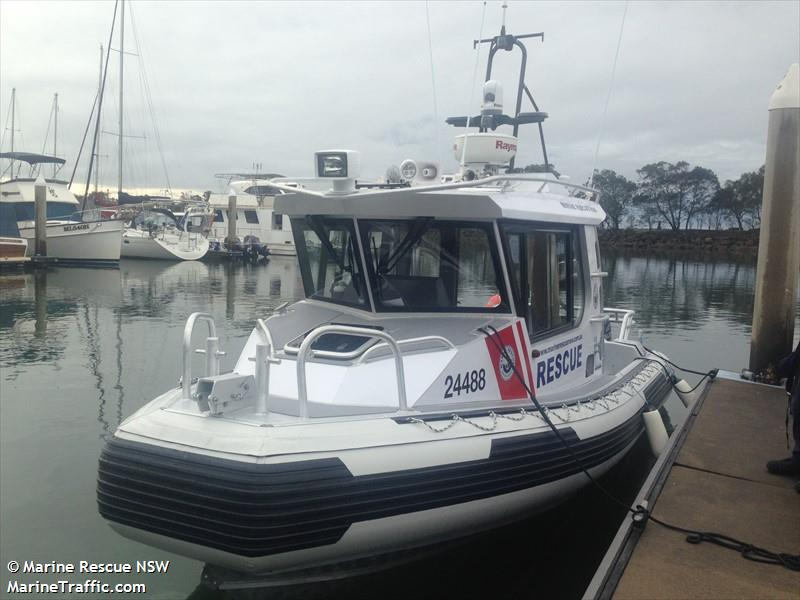 Vessel details for: MARINE RESCUE MH20 (SAR) - MMSI 503008660, Call