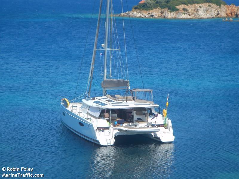Vessel details for: BISOU (Sailing Vessel) - MMSI 503009750, Call