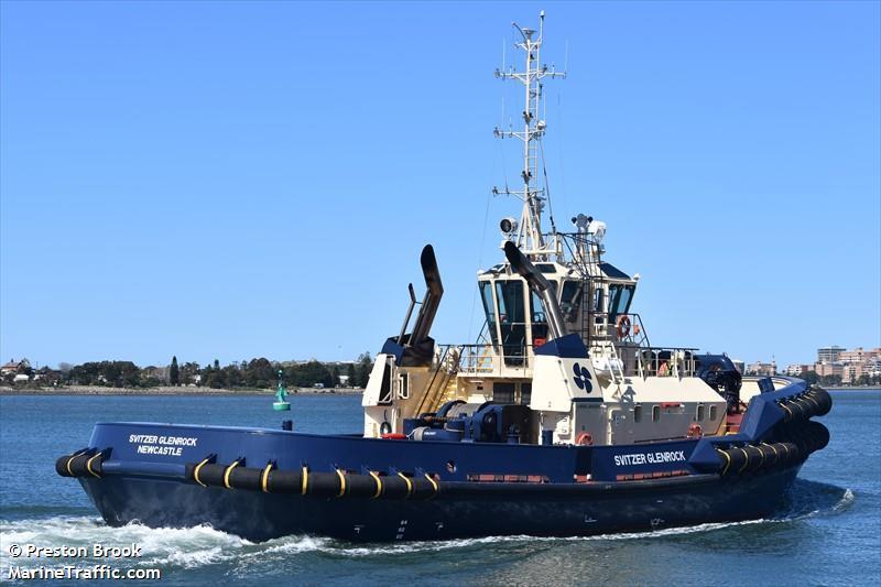 Vessel details for: SVITZER GLENROCK (Tug) - IMO 9795866