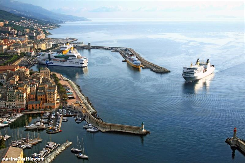 Port Of Bastia Fr Bia Details Departures Expected Arrivals And