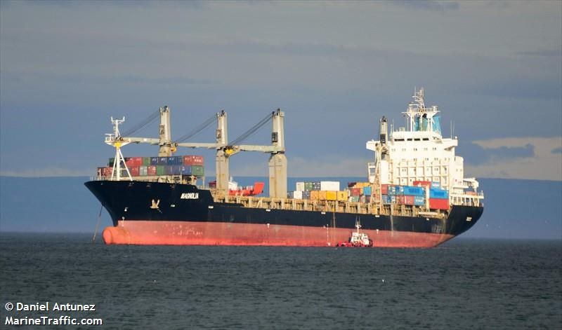 Vessel details for: MAGNOLIA (General Cargo) - IMO 9138123