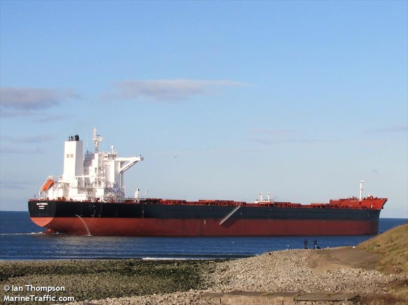 Vessel details for: BATTERSEA (Bulk Carrier) - IMO 9457402