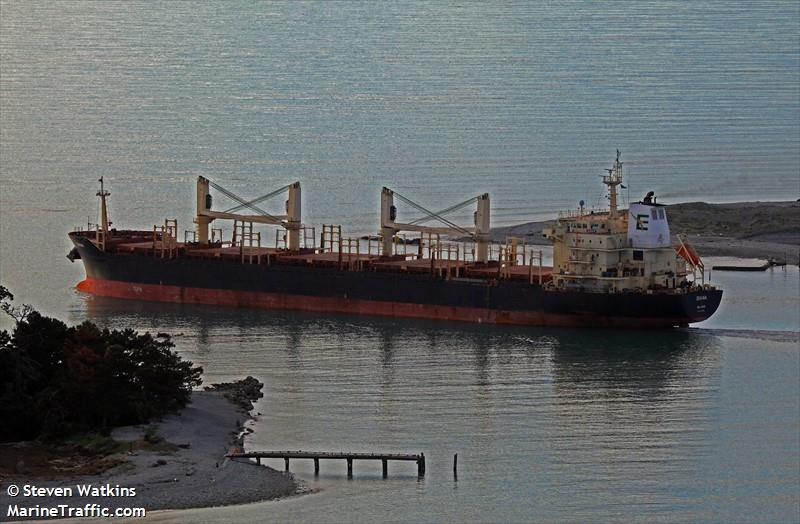 Vessel details for: DIANA (Bulk Carrier) - IMO 9460253, MMSI