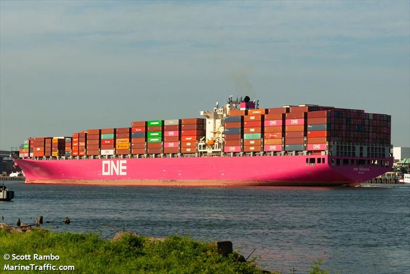 Vessel details for: MOL MISSION (Container Ship) - IMO
