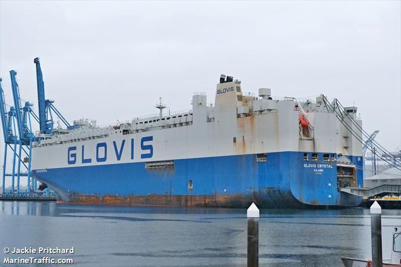 Vessel details for: GLOVIS CRYSTAL (Vehicles Carrier) - IMO 9707003