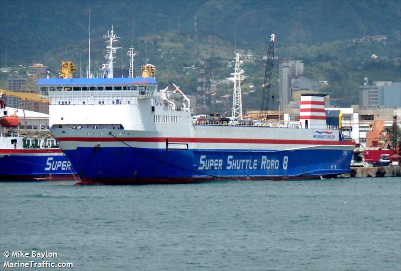 Vessel details for: SUPER SHUTTLE RORO 8 (Ro-Ro Cargo) - IMO 8413992