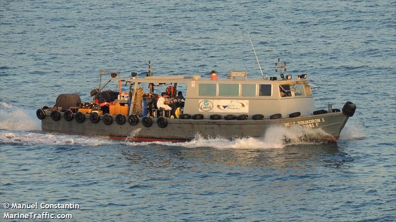 Vessel details for: WEST SQUADRON (Dive Vessel) - MMSI
