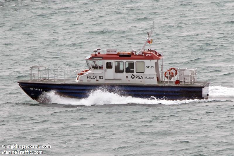 Vessel details for: PILOT GP03 (Unspecified) - MMSI