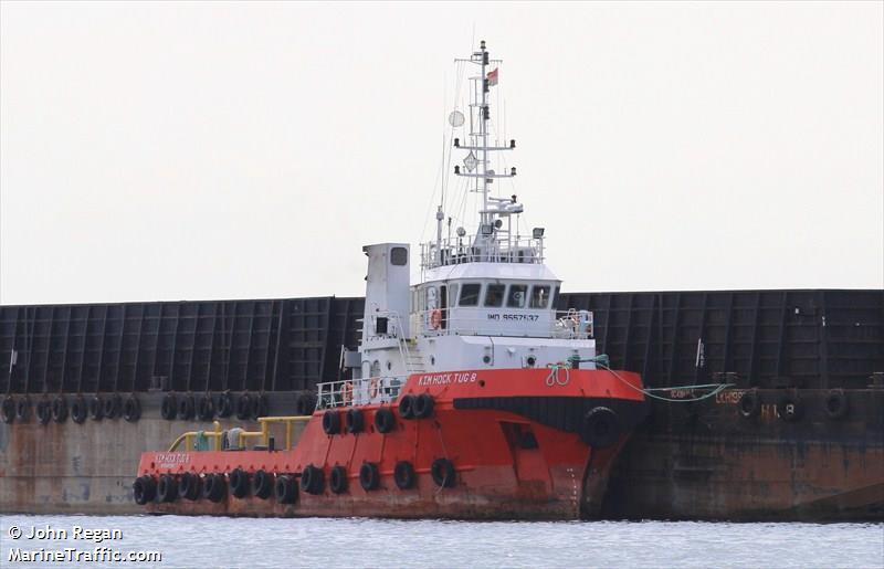 Vessel details for: KIM HOCK TUG 8 (Tug) - IMO 9557537, MMSI
