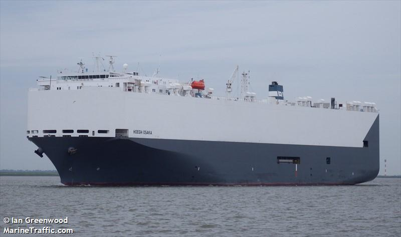 Vessel details for: HOEGH OSAKA (Vehicles Carrier) - IMO