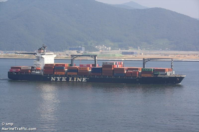 Vessel details for: NYK ISABEL (Container Ship) - IMO