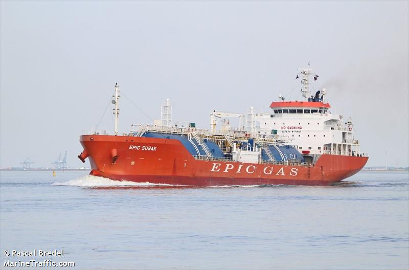 Lpg Near Me >> Vessel details for: KAHYASI (LPG Tanker) - IMO 9726815, MMSI 566478000, Call Sign 9V2738 ...