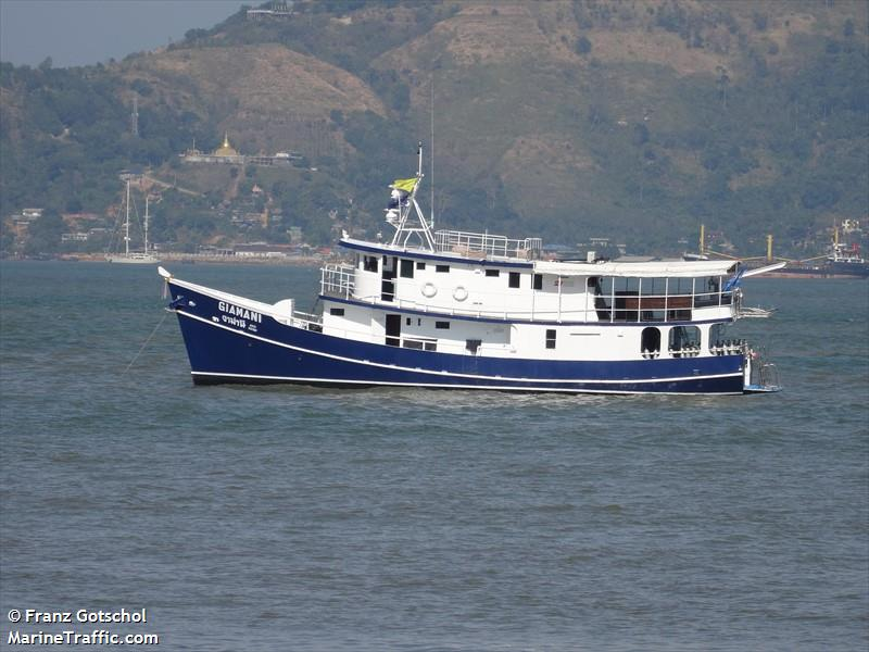 Vessel details for: MY GIAMANI (Pleasure Craft) - MMSI 567000465