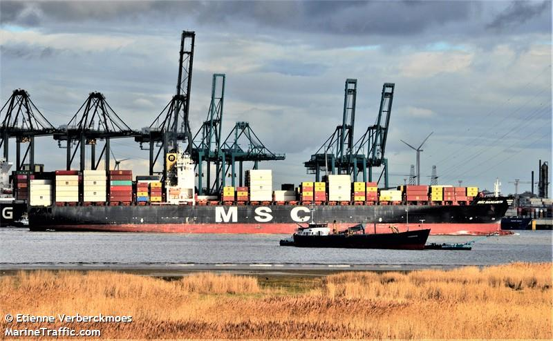 Vessel details for: MSC MARGARITA (Container Ship) - IMO 9238741