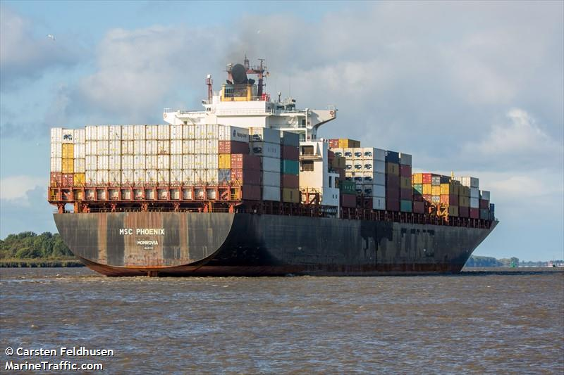Vessel details for: MSC PHOENIX (Container Ship) - IMO