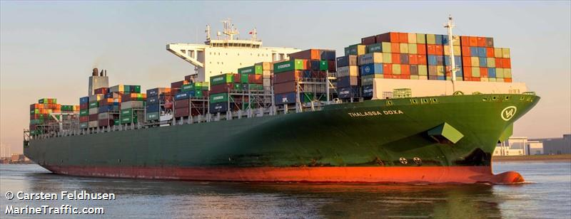 Vessel details for: THALASSA DOXA (Container Ship) - IMO