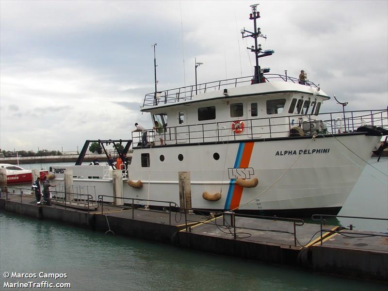 Vessel details for: ALPHA DELPHINI (Unspecified) - MMSI 710000616
