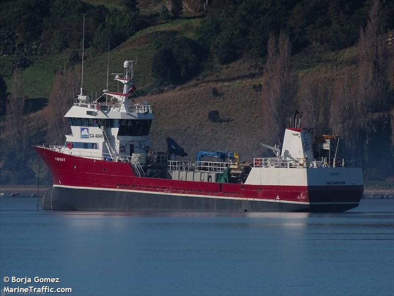 Vessel details for: FAEROY (Fish Carrier) - IMO 9201891 ...