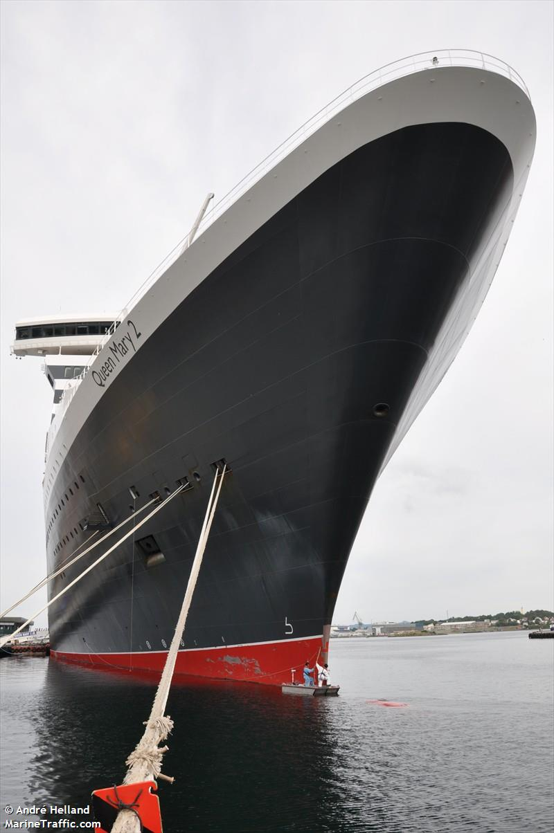 Vessel details for: QUEEN MARY 2 (Passenger Ship) - IMO ...