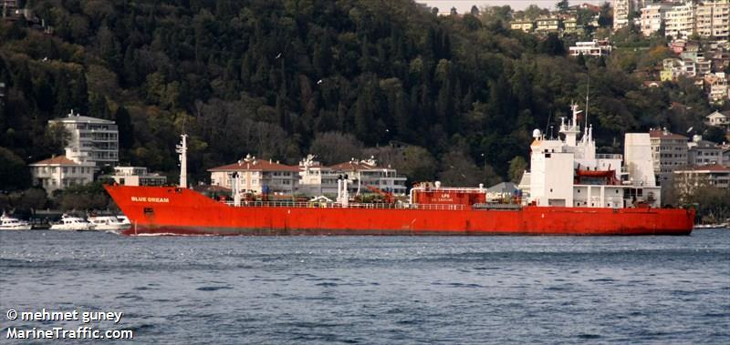 BLUE DREAM, LPG carrier, IMO 8002664 | Vessel details