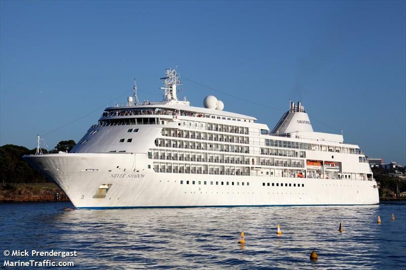 Vessel Details For SILVER SHADOW Passenger Ship IMO - Silver shadow cruise ship itinerary