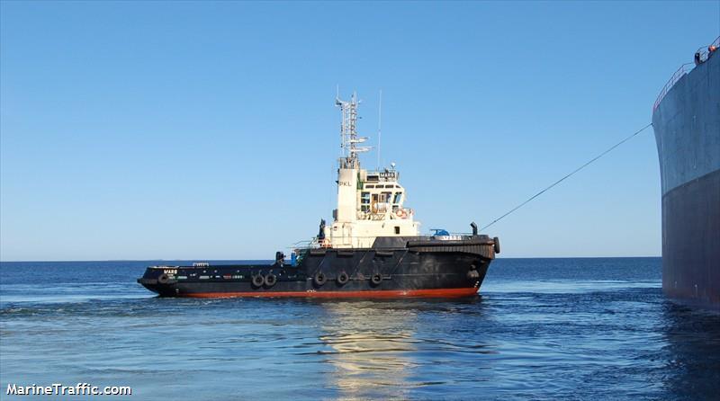 Vessel details for: MARS (Tug) - IMO 9222417, MMSI 276421000