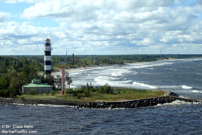 Daugavgriva Range Front