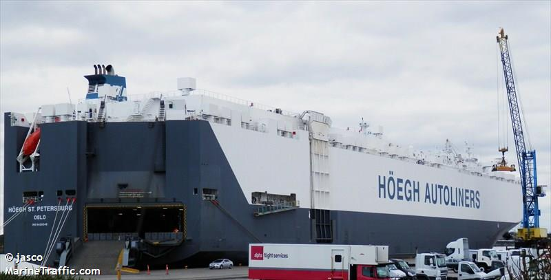 HOEGH ST PETERSBURG, Car carrier, IMO 9420045 | Vessel