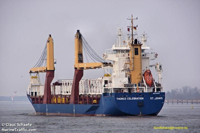 Vessel details for: CELEBRATION (General Cargo) - IMO 9258997, MMSI 305798000, Call Sign V2FU4 ...