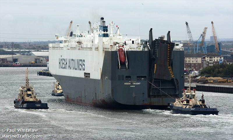 Picture of HOEGH TRIDENT | AIS Marine Traffic