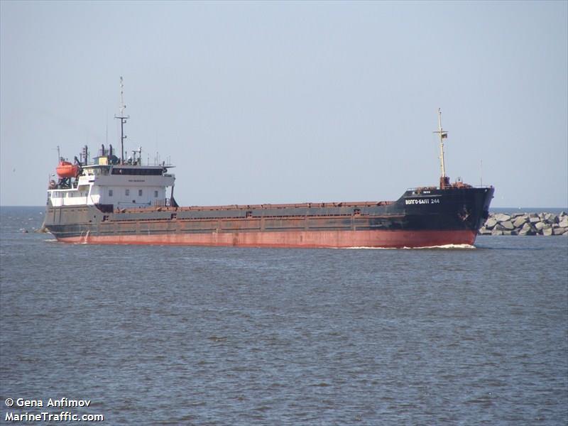 volgo balt general cargo vessel imo vessel details  volgo balt 244 imo 8230584