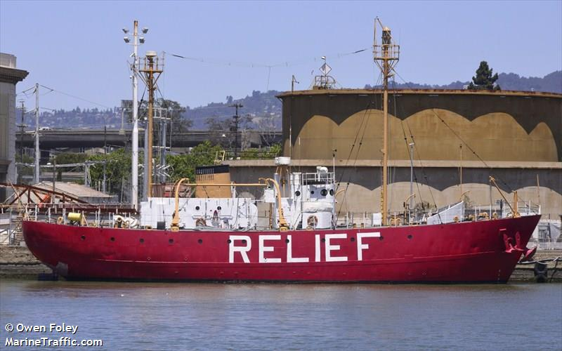Lightship Wlv-605 Relief