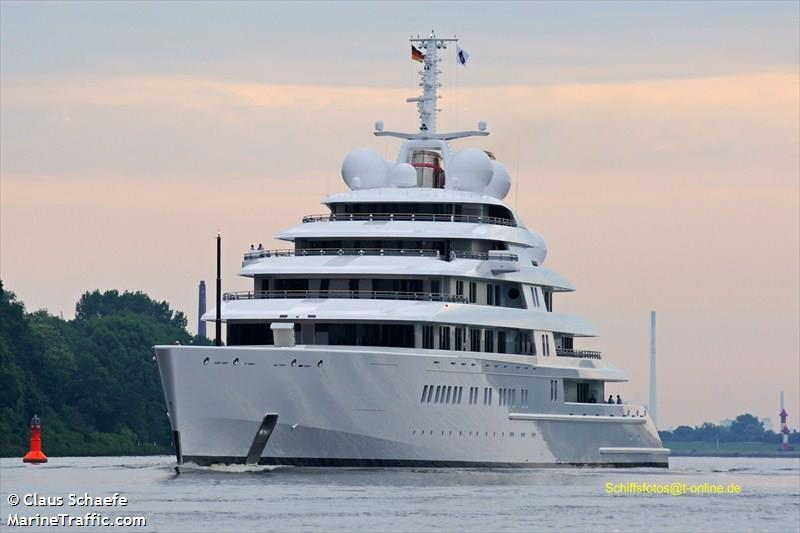 Vessel Details For Azzam Yacht Imo 9693367 Mmsi 470992000