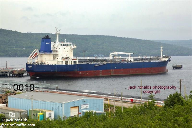 Vessel Details For Okhta Bridge Oil Chemical Tanker