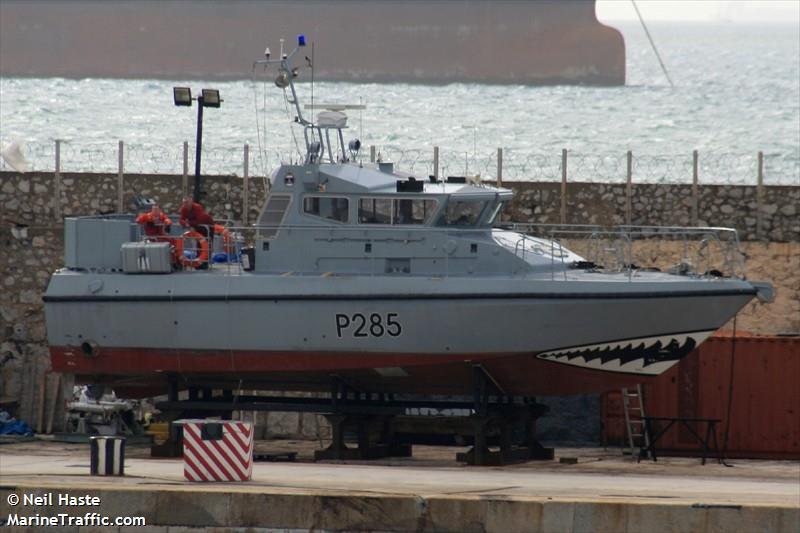 RN HMS SABRE P285