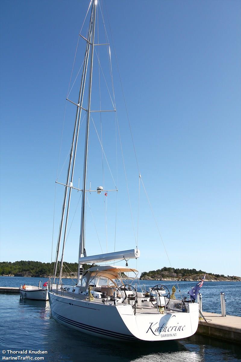 Vessel details for: KATHERINE (Sailing Vessel) - MMSI