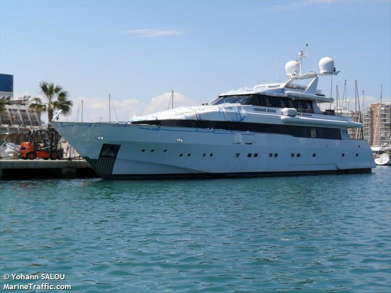 indigo star yacht