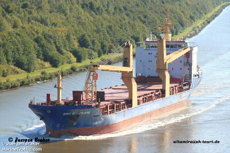 Vessel details for: BBC DELAWARE (General Cargo) - IMO 9357212, MMSI 305057000, Call Sign V2CN9 ...